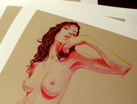 Pin-up Giclee Set