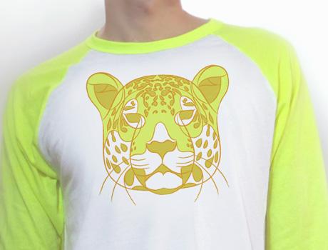 Neon Yellow Leopard Tee